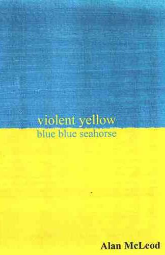 Violent Yellow Blue Blue Seahorse